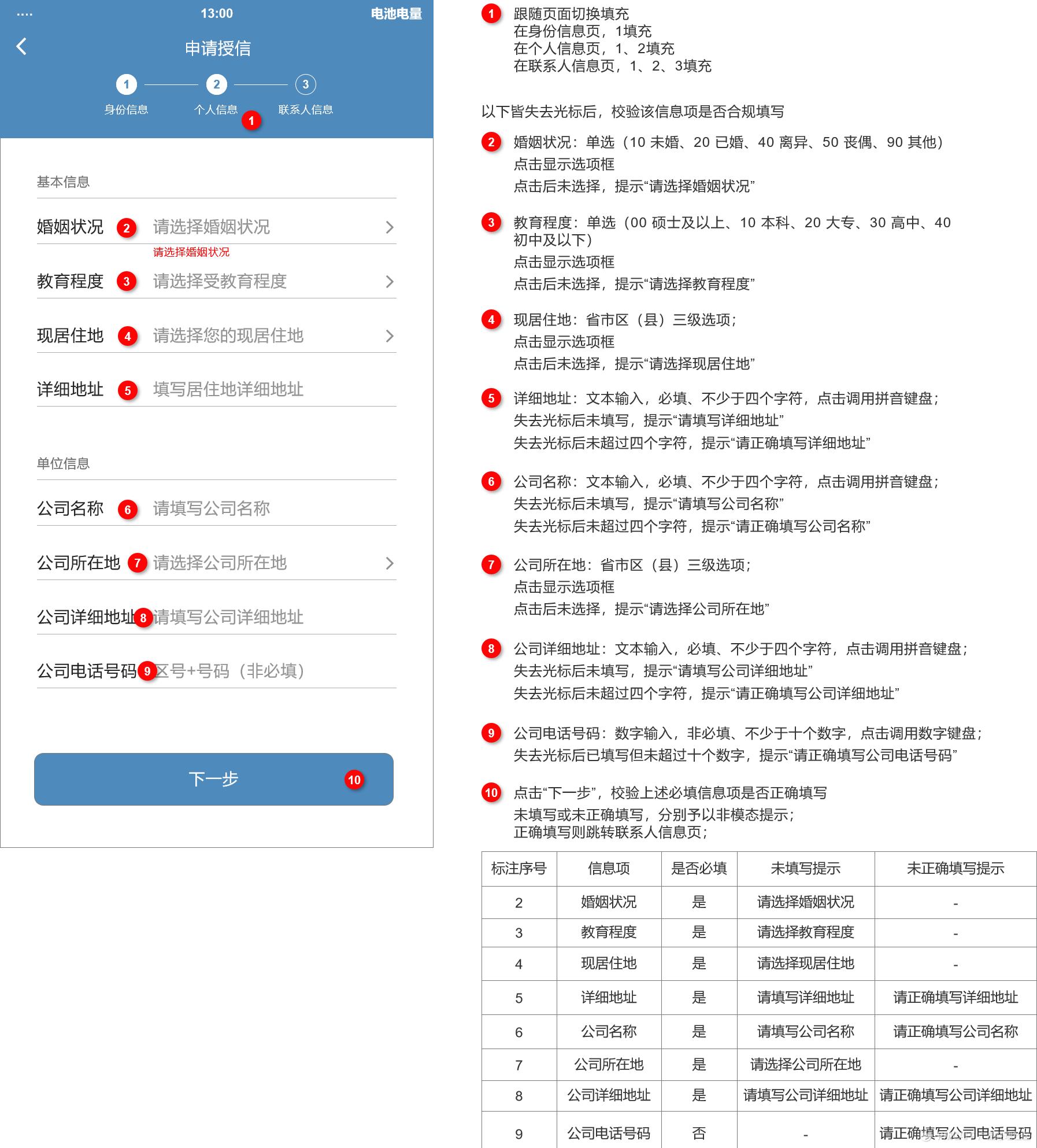 信贷H5产品需求文档插图19