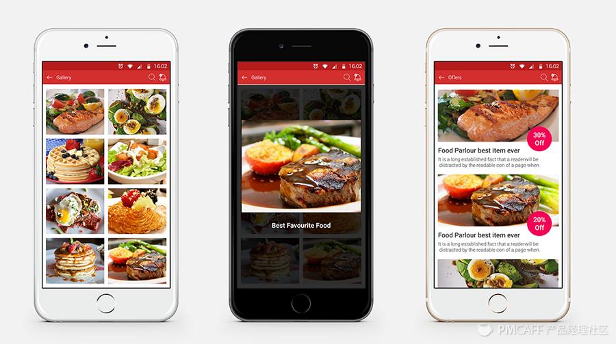 个最新手机美食app界面设计欣赏 jongde 博客园